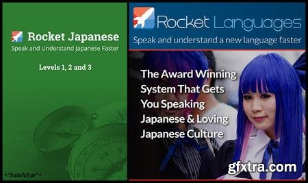 Rocket Japanese Levels 1-3 Complete with Bonus Survival Kits