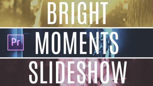 Videohive - Bright Moments Slideshow MOGRT