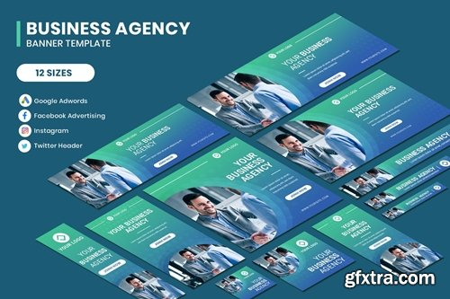 Business Agency Google Adwords Banner Template