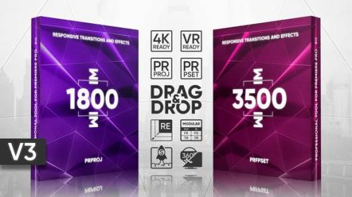 Videohive - Transitions Presets Pack