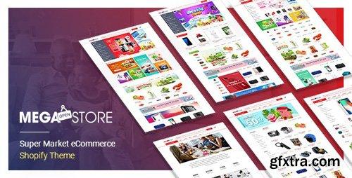 ThemeForest - MegaStore v1.0.0 - Super Market eCommerce Shopify Theme - 22654970
