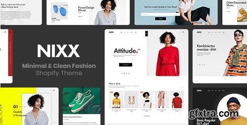 ThemeForest - NIXX v1.0.0 - Minimal & Clean Fashion Shopify Theme - 22818318