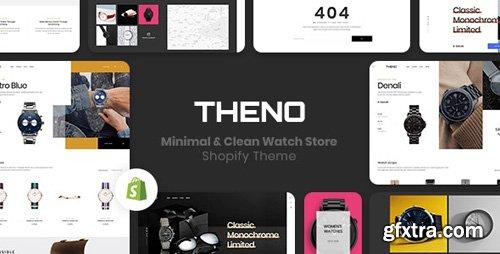 ThemeForest - THENO v1.0.0 - Minimal & Clean Watch Store Shopify Theme - 23237714