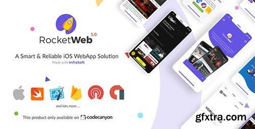 CodeCanyon - RocketWeb v1.0.3 - Configurable iOS WebView App Template - 26369602