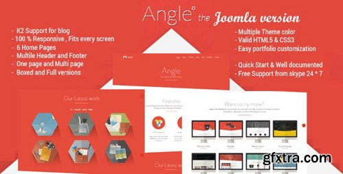 ThemeForest - Angle v2.0 - Responsive MultiPurpose Joomla Theme - 16145612