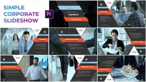 Videohive - Simple Corporate Slideshow – Premiere Pro