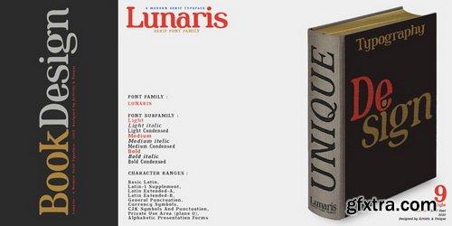 Lunaris Font Family