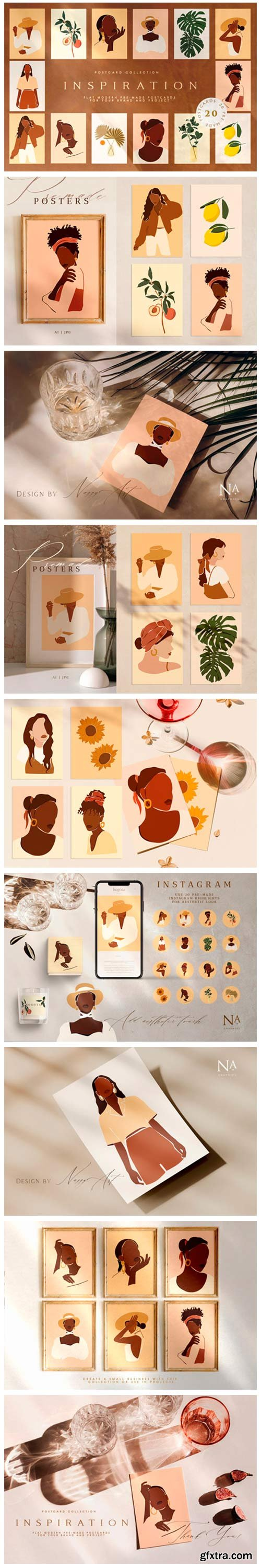 Inspiration Postcard Collection 4383751