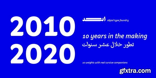 Palsam Arabic Font Family