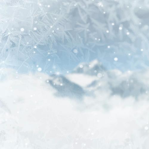 Snowy Rock Creek Park in Washington D.C., USA vector - 1229697