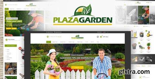 ThemeForest - Plazagarden v1.0 - Responsive Prestashop Theme - 27291806
