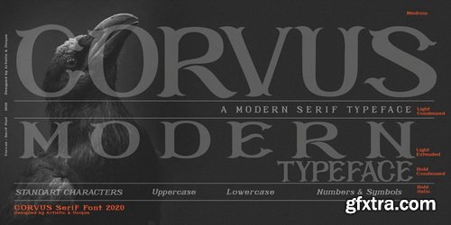 Corvus Font Family