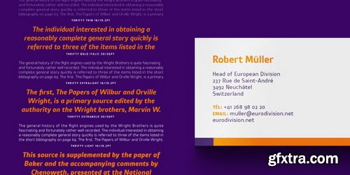 Thrifty Font Family