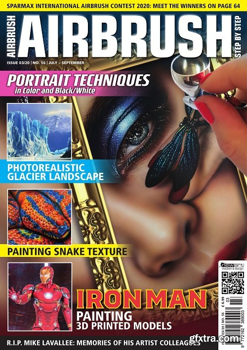 Airbrush Step by Step English Edition – July/September 2020