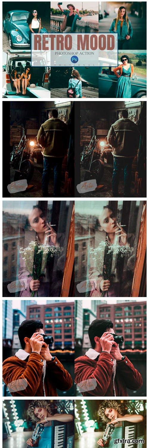 11 Retro Mood Photoshop Actions 4461933