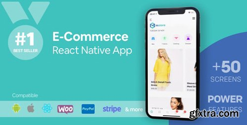 CodeCanyon - MStore Pro v4.0.0 - Complete React Native template for e-commerce - 17010642