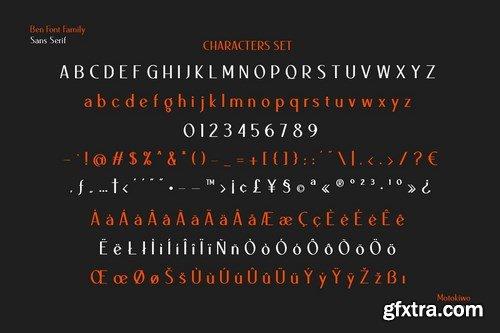 CM - Ben Sans Serif Family 5087260