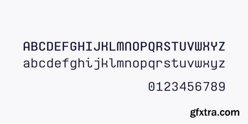 Monospaceland Font Family