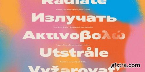 Radiate Sans Font Family