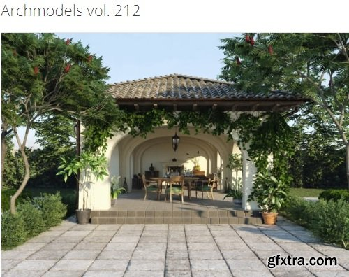 Evermotion – Archmodels Vol. 212 – Vray Only