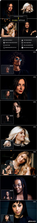 GraphicRiver - Dark Style Photoshop Action 26314895