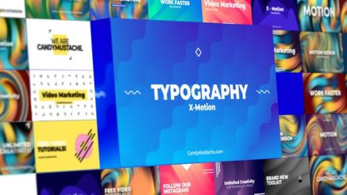 Videohive - X-Motion | Typography | After Effects
