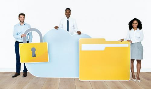 Internet security and protection concept shoot - 451603