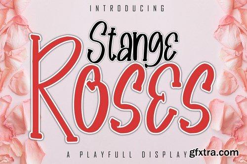 Stange Roses A Playfull Display Font