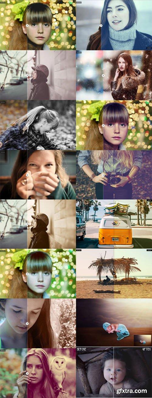200+ Photoshop Actions for Portrait Photos