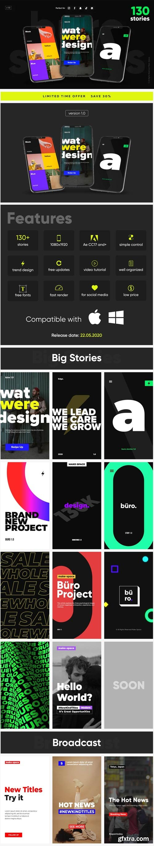 Videohive - Büro - Instagram Stories - 26772226