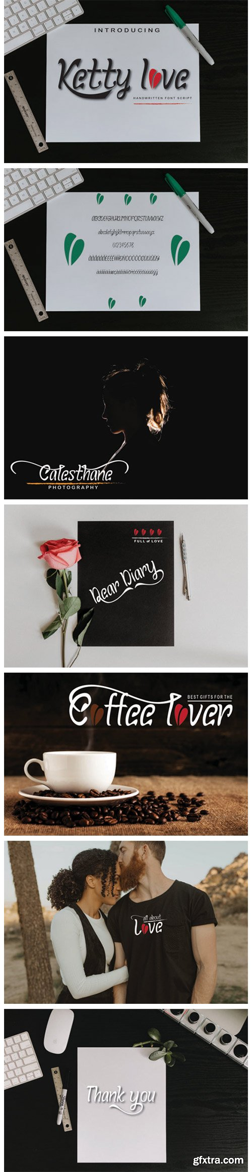 Ketty Love Font