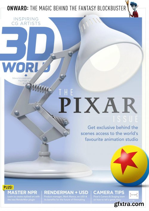 3D World UK - Issue 261, August 2020