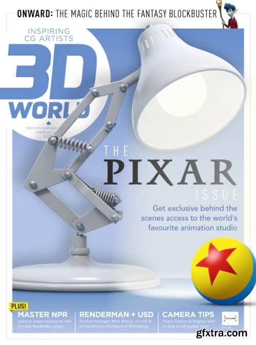 3D World UK - Issue 261, August 2020 (True PDF)