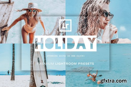 CreativeMarket - Holiday Lightroom Presets 5119330