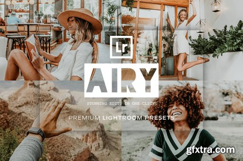 CreativeMarket - Airy Lightroom Presets 5119089