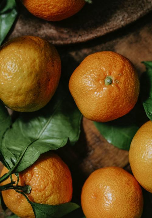 Fresh and ripe rangpur fruit - 844818