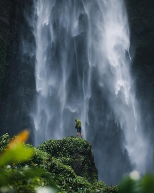 View of waterfall in Java, Indonesia - 935479