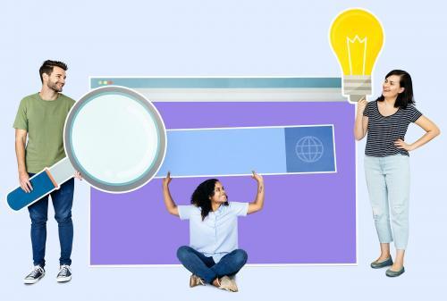 Search engine optimization concept shoot - 450679