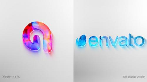 Videohive - Clean Colorful Logo Reveal
