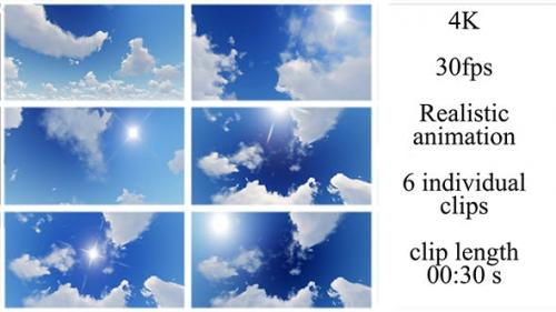 Videohive - Sky and Clouds Pack
