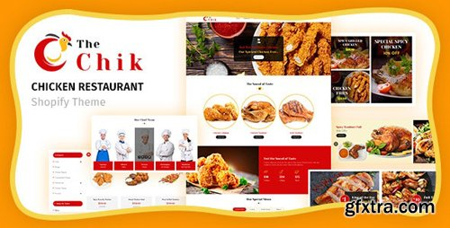 ThemeForest - Chik v1.1 - Food Shop, Restaurant Shopify Theme - 25081441