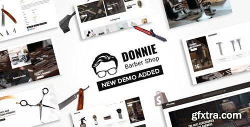 ThemeForest - Donnie v1.1 - Barber Shop Shopify Theme - 23464703