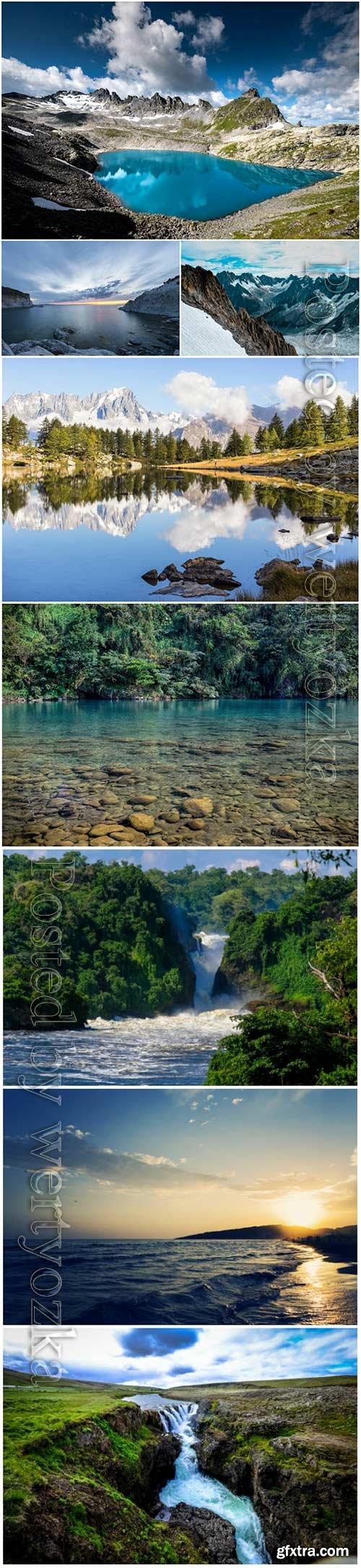 Beautiful nature, landscapes