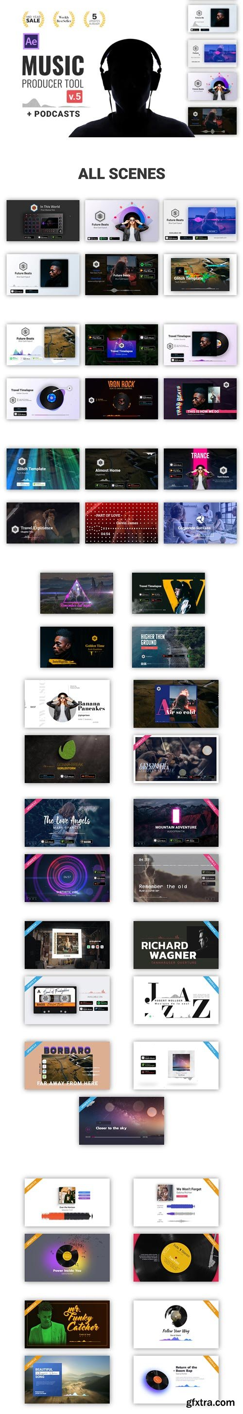 Videohive - Audio Visualization // Music Producer Tool V5 - 24314482
