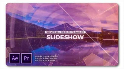 Videohive - Universal Circles Parallax Slideshow