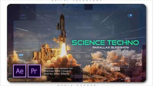 Videohive - Science Techno Parallax Slideshow
