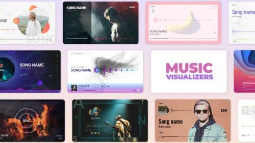 Videohive - Audio Music and Podcast Visualizers