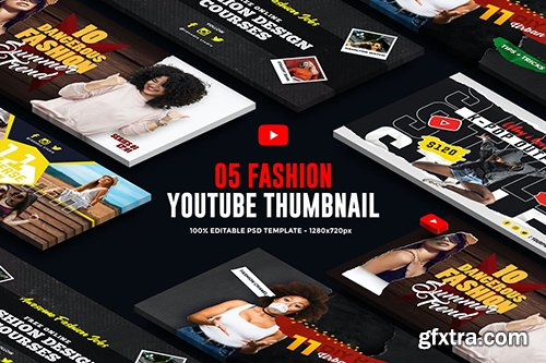 Fashion Youtube Thumbnail