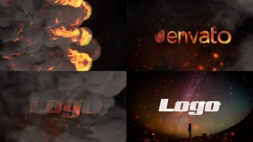 Videohive - Stylish Fire Logo | After Effects