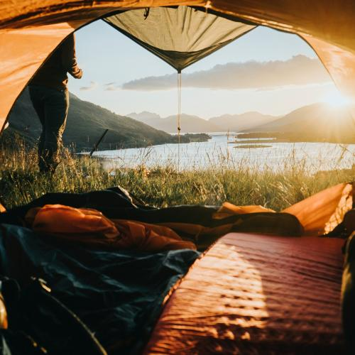 Camping in Ballachulish in Highland, Scotland - 1017137